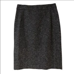Theory Wool Blend Pencil Skirt